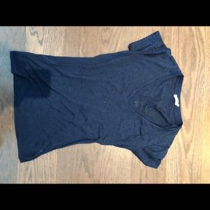 Tart Blue sheer shirt
